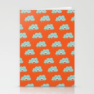 The Happy Love Rain Clou… Stationery Cards