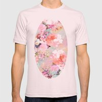 Love Of A Flower Mens Fitted Tee Light Pink SMALL