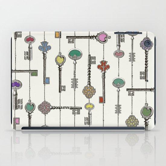 Love is the Key iPad Case