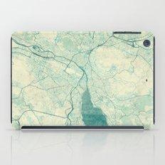 Zurich Map Blue Vintage iPad Case