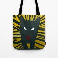 Evil Cat Tote Bag