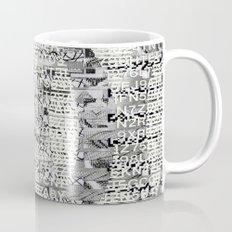 The Eternal Return Of The Unique Event (P/D3 Glitch Collage Studies) Mug