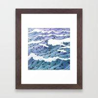 From Leaf to Feather Framed Art Print