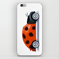 Lady Beetle iPhone & iPod Skin