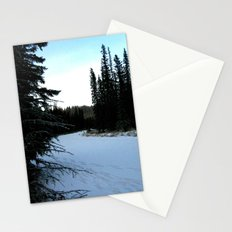 Wintertime in WaterValley Stationery Cards