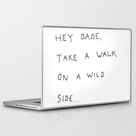 hey babe... Laptop & iPad Skin