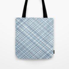 Weave 45 Blues Tote Bag