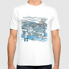 20x20 - On With, 2007 Mens Fitted Tee White SMALL