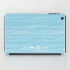 The Blue Blue Sea iPad Case