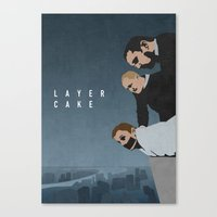 LAYER CAKE Canvas Print