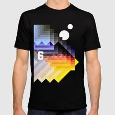 6. Black Mens Fitted Tee SMALL