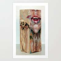 My Inevitable Self Destr… Art Print