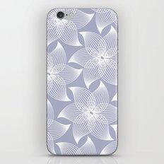 Pale flower pattern iPhone & iPod Skin