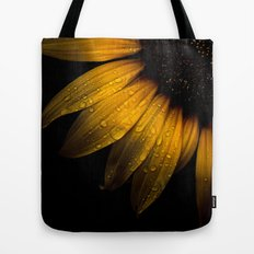 Backyard Flowers 28 Sunflower Tote Bag