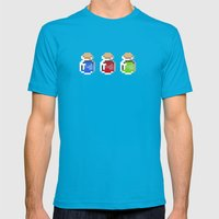 Potions Mens Fitted Tee Teal SMALL