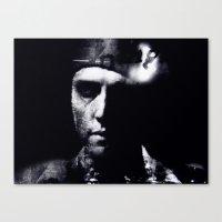 Hommage to Christopher Walken Canvas Print