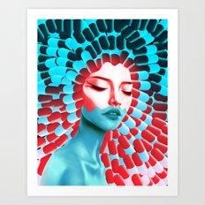 Blue Pill, Red Pill? Art Print