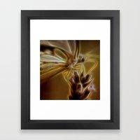 Electrified Butterfly Framed Art Print