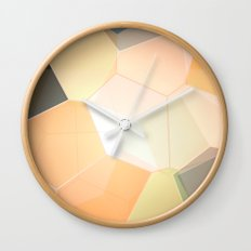 Heavenly Patterns Wall Clock