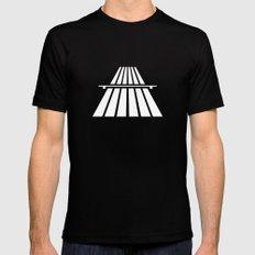 Autobahns   Autobahn   Motorway   Freeway   Highway   Bundesautobahn   Road sign SMALL Mens Fitted Tee Black
