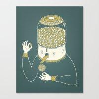 Candyholic Canvas Print