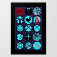 Spiritual Way of The Cross - Poster - Jesus Good Friday Art Print