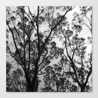 Nature into Me Canvas Print