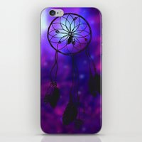 Dreamcatcher (purple) iPhone & iPod Skin
