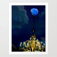 At The Stroke Of Midnigh… Art Print
