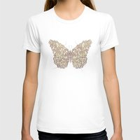 butterfly T-shirts featuring Butterfly by Mike Koubou
