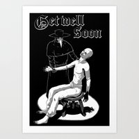 Get Well Soon Art Print