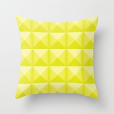Studs - Neon Throw Pillow