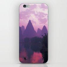 Purple Asia iPhone & iPod Skin