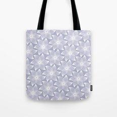 Pale flower pattern Tote Bag