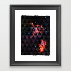 All you need is Space Framed Art Print