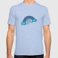 Somewhere Over The Rainb… Mens Fitted Tee Athletic Blue SMALL