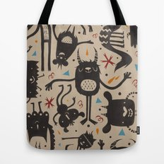 Topsy Turvy - Light Tote Bag