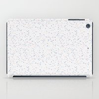 Speckles I: Rose Quartz & Serenity on Snow iPad Case