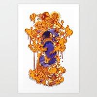 URBANA Art Print