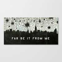 A Good Sky for Falling Canvas Print