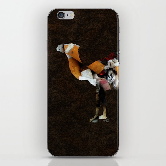 Camel Collage 3 iPhone & iPod Skin