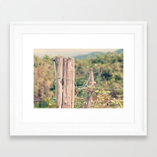 Countryside Framed Art Print