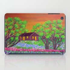 Meadow in the Sunrise iPad Case