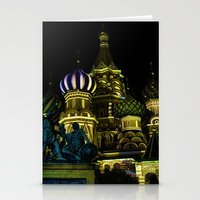 Saint Basil's Cathedral,… Stationery Cards