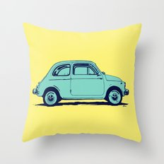 Fiat 500 Throw Pillow