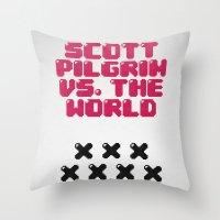 Scott Pilgrim Vs. The Wo… Throw Pillow