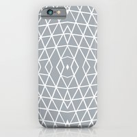Geo Outline Grey iPhone 6 Slim Case