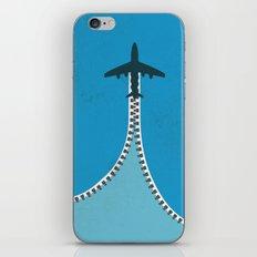 Unzip the sky iPhone & iPod Skin