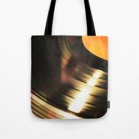 Vinyl 2 Tote Bag