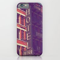 iPhone & iPod Case featuring Hotel Chelsea In New York by Yolene Dabreteau Photography